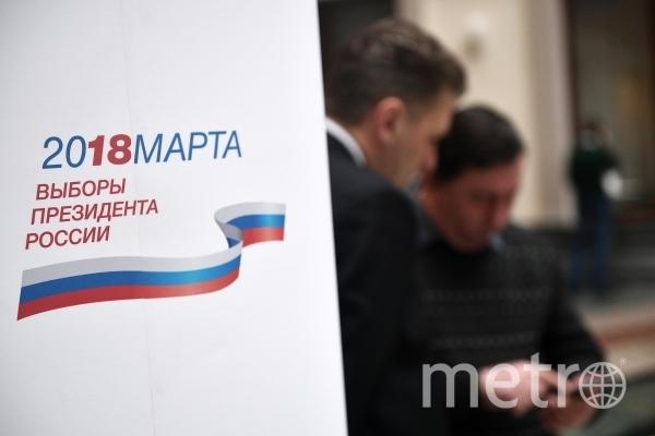 В информационном центре Центральной избирательной комиссии РФ. Фото РИА Новости