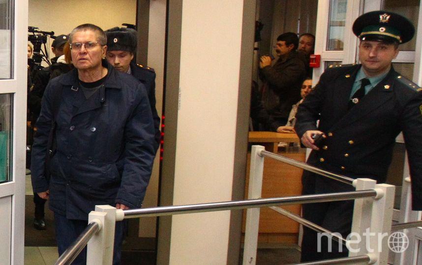 Алексей Улюкаев в здании суда. Фото Василий Кузьмичёнок