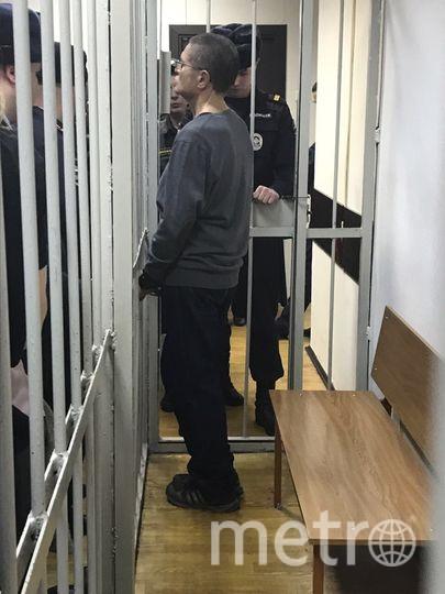 """Алексей Улюкаев в здании суда. Фото Мария Беленькая., """"Metro"""""""
