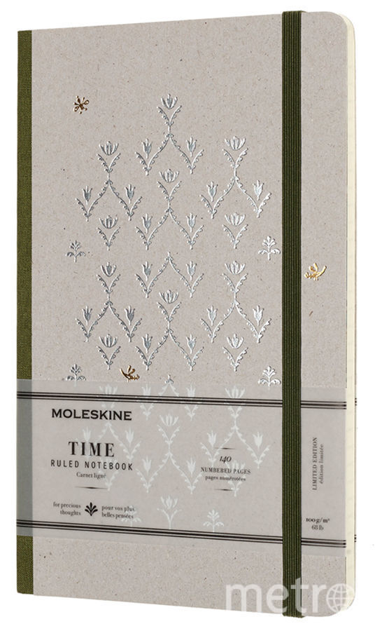 Записная книжка Moleskine Time Collection.