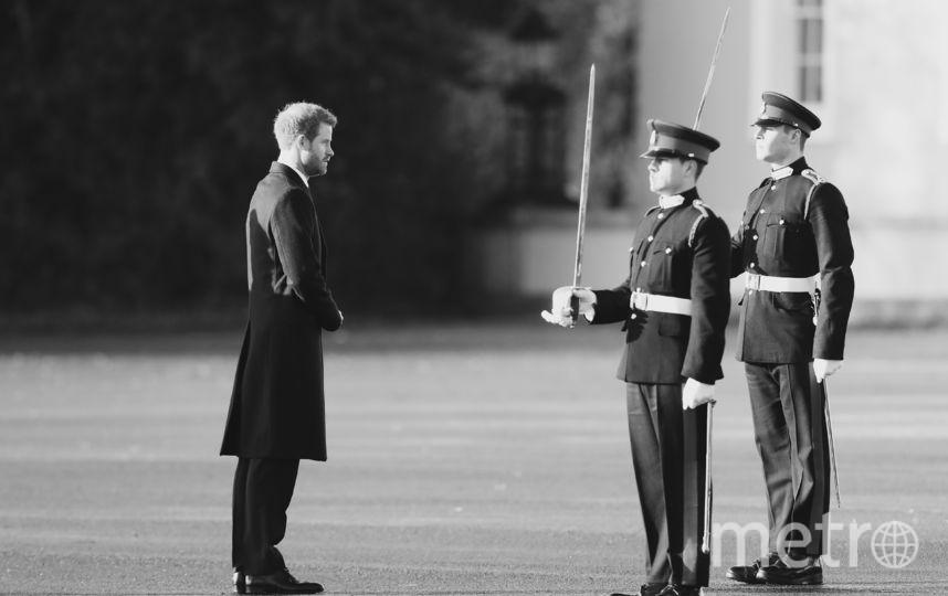 Принц Гарри в Сандхерсте. Фото Getty