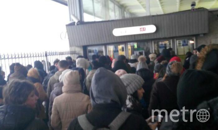 Станцию метро «Электросила» закрыли
