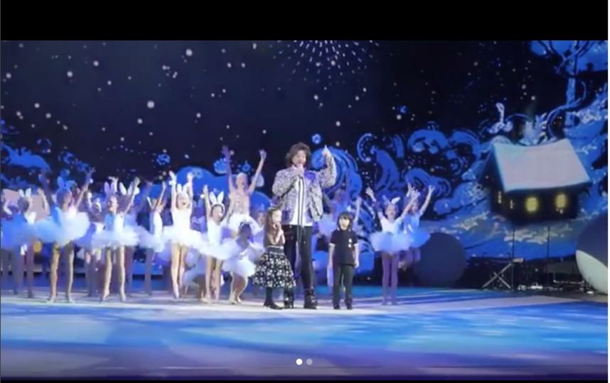Скриншот видео @fkirkorov. Фото Video by @phot.on