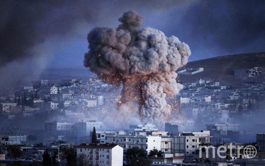 Ракетный удар. Фото Getty