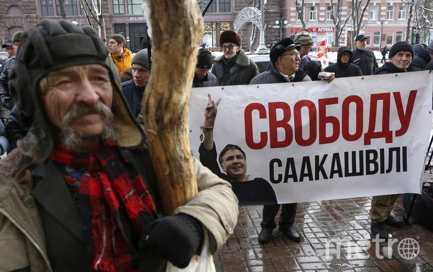 Протесты в Киеве. Фото AFP