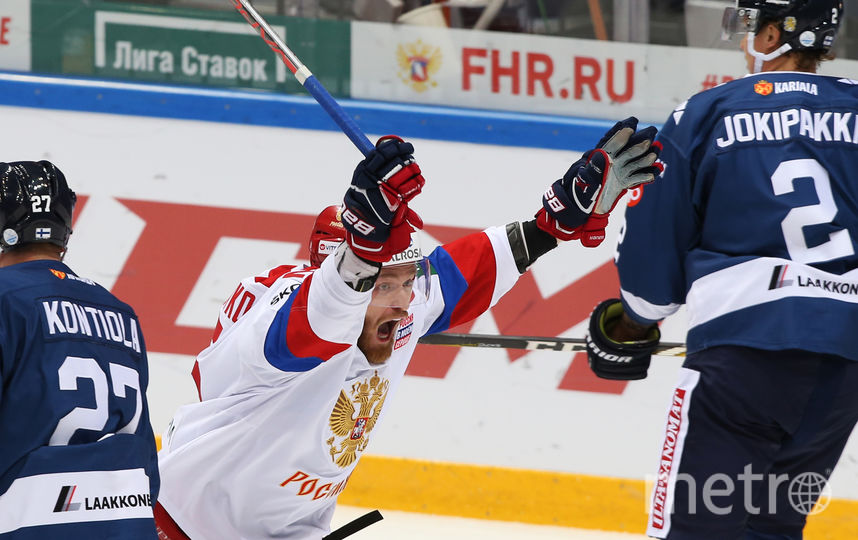 Сборная Российской Федерации одолела Канаду нахоккейном Кубке Первого канала