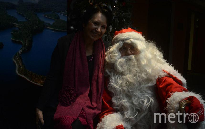 Пресс-конференция «Рождественские и новогодние мероприятия в регионе озера Сайма». Фото все - Елена Пальм.