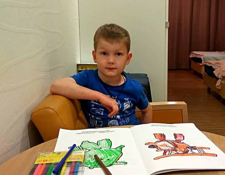 Миша мечтает пойти в детский сад и подружиться с другими детьми. Фото предоставлено фондом «Подсолнух»