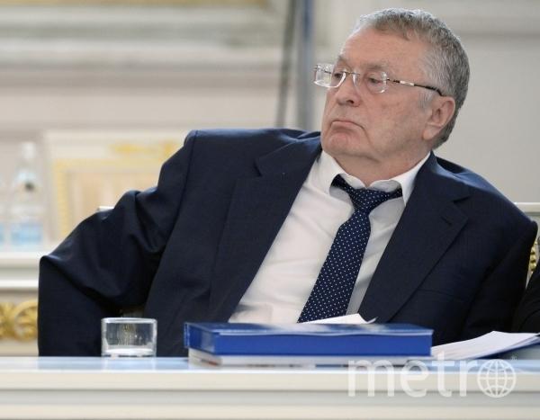 Лидер партии ЛДПР Владимир Жириновский. Фото РИА Новости