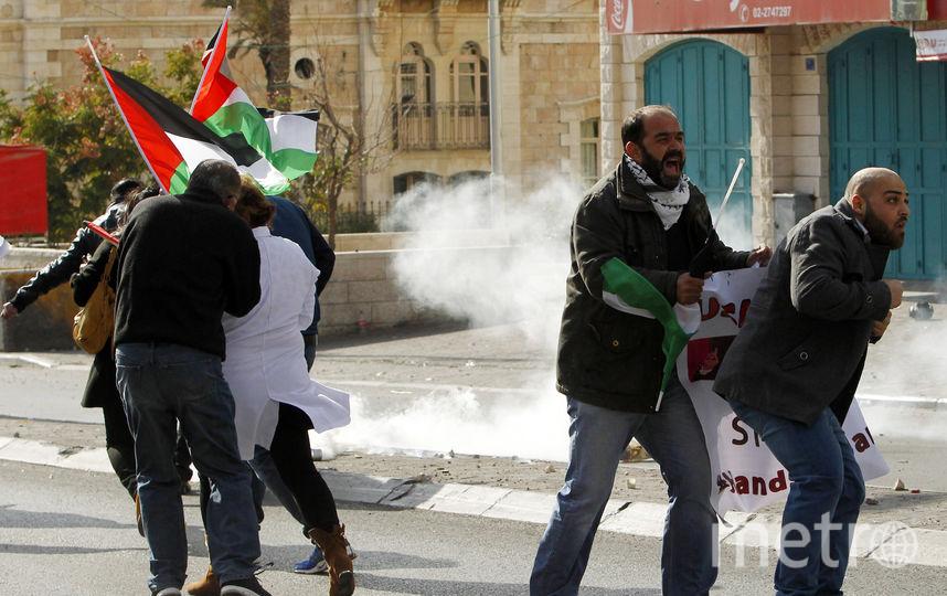 Столкновения в Вифлееме. Фото AFP