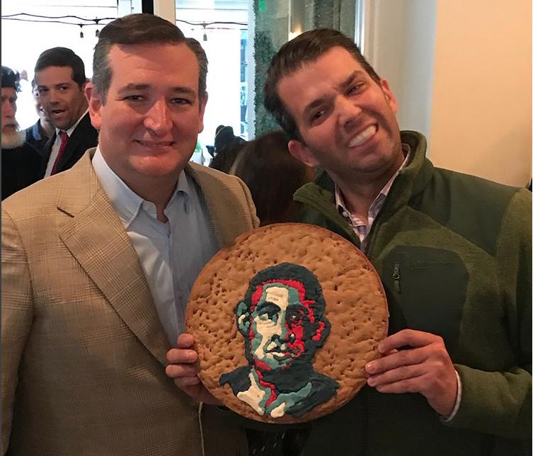 Дональд Трамп-младший и Тед Круз. Фото instagram.com/donaldjtrumpjr