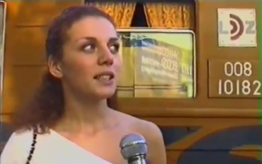Анна Седокова в молодости. Фото Скриншот Youtube