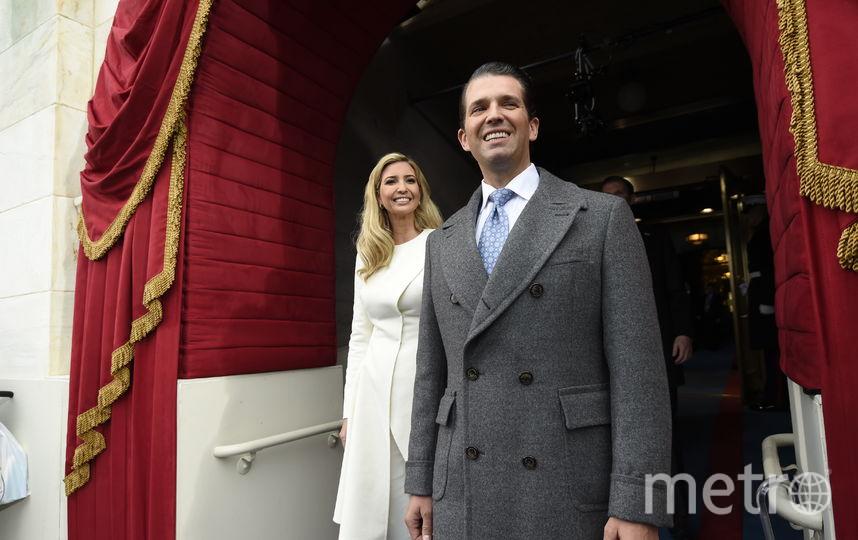 Дональд Трамп-младший с родной сестрой Иванкой Трамп. Фото Getty
