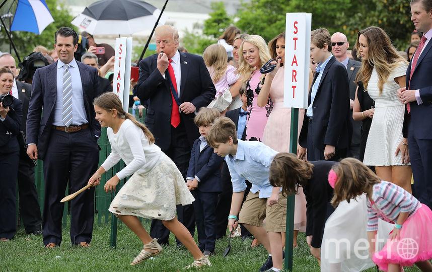 Дональд Трамп-младший на празднике в Белом Доме. Фото Getty