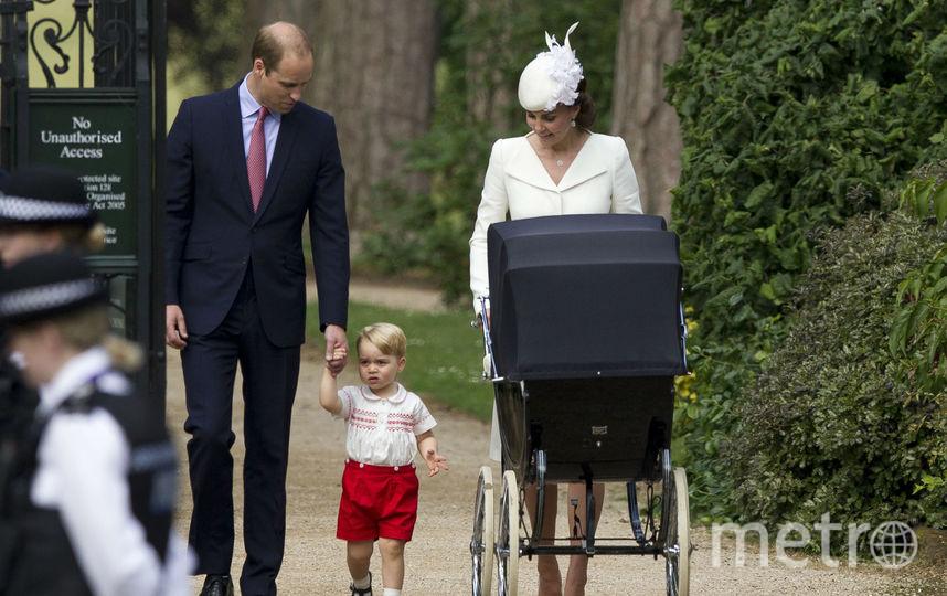 "На крестинах принцессы Шарлотты"". Фото Getty"