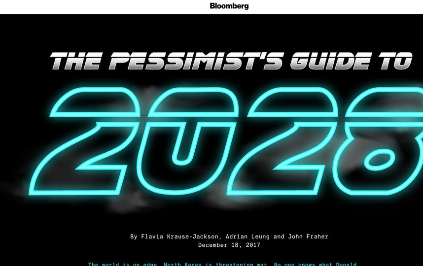 Обзор Bloomberg на 2018-2028 гг. Фото www.bloomberg.com