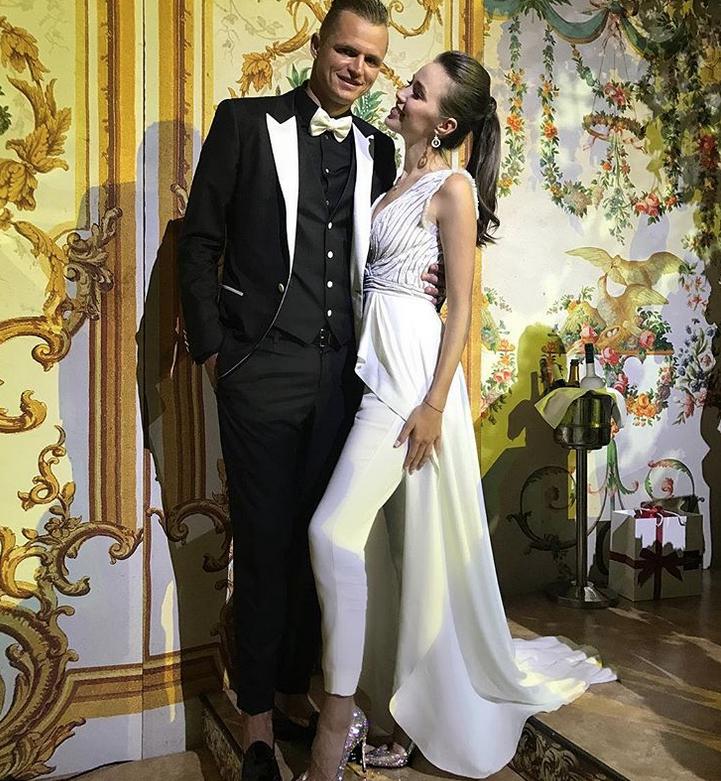 Анастасия Костенко и Дмитрий Тарасов - фотоархив.