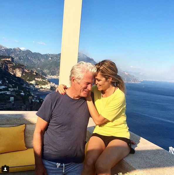 Алехандра Сильва и Ричард Гир. Фото Скриншот Instagram: @alejandra_silva
