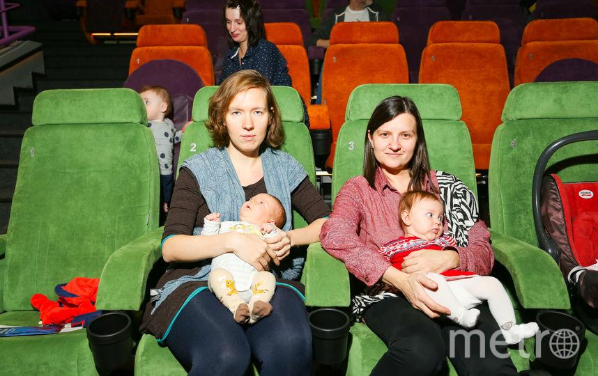 На первый сеанс пришло около 30 родителей с маленькими детьми. Фото Предоставлено пресс-службой Объединенной сети «Синема Парк» и «Формула Кино»