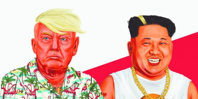Ядерная угроза в стиле хипстеров.