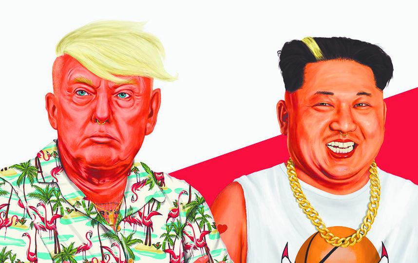 Ядерная угроза в стиле хипстеров. Фото Амит Шимони
