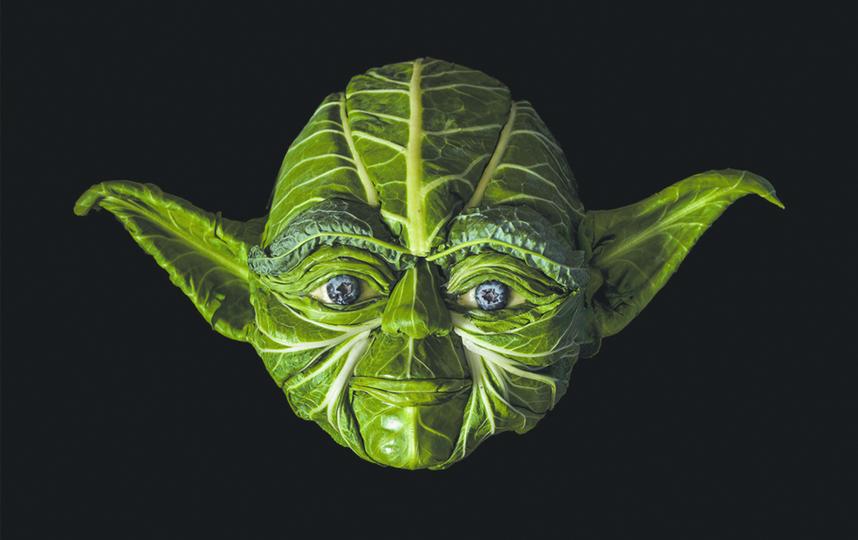 Да пребудет Сила в салате. Фото Клаус Энрике