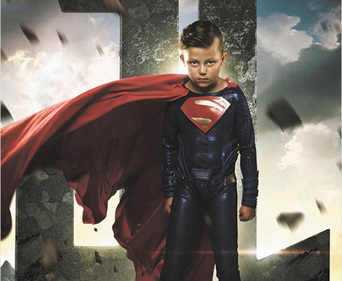 Дети борются с болезнями как супергерои. Фото Джош Росси