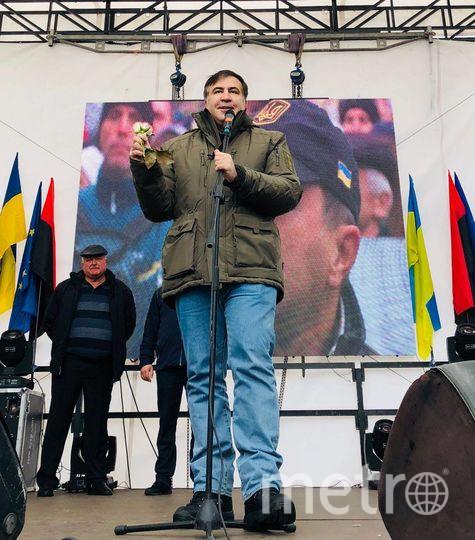 Михаил Саакашвили. Фото https://www.facebook.com/SaakashviliMikheil/