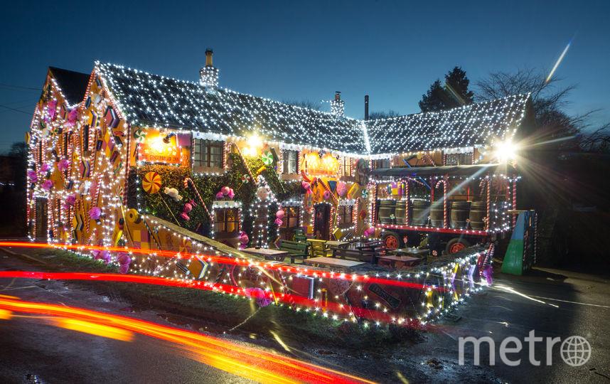 """А это """"пряничный домик""""-паб в Британии. Фото Getty"""