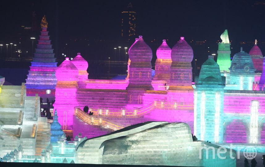Харбин, фестиваль льда и снега. Фото Getty