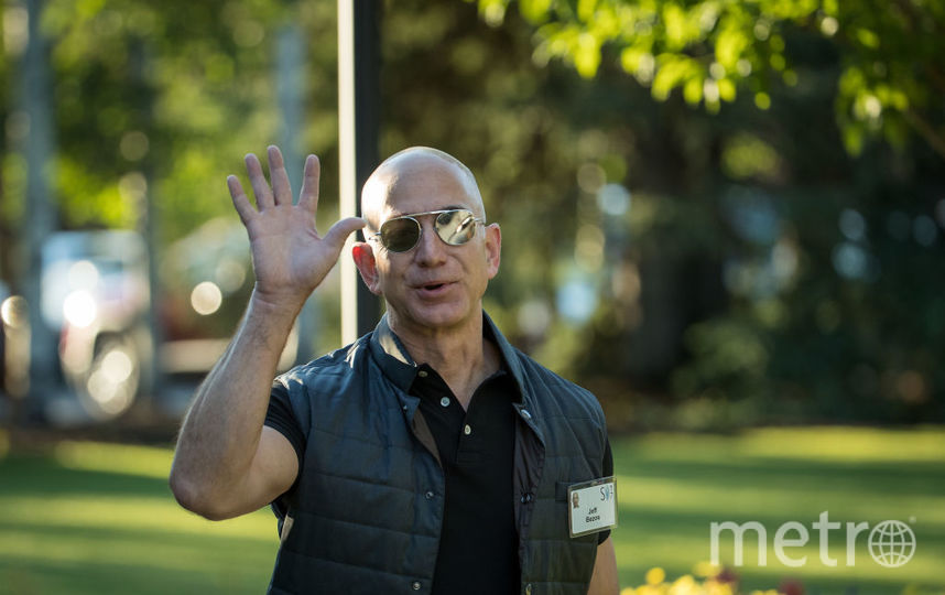 Джефф Безос +33.8 миллиарда долларов. Фото Getty