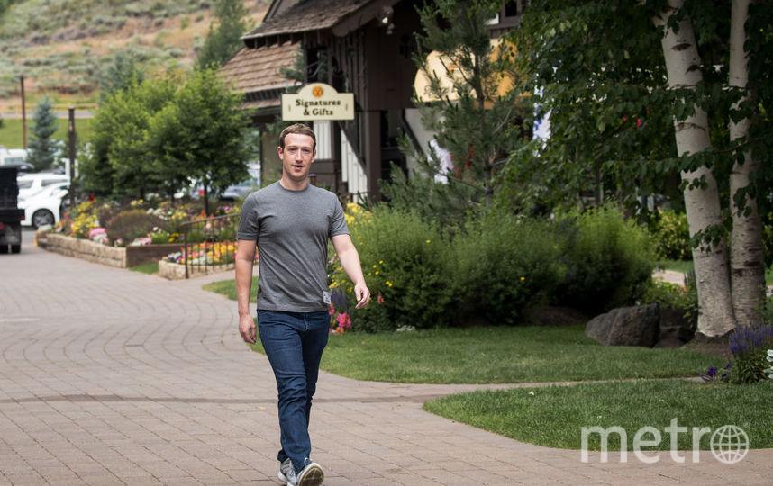 Марк Цукерберг +23,6 миллиарда долларов. Фото Getty