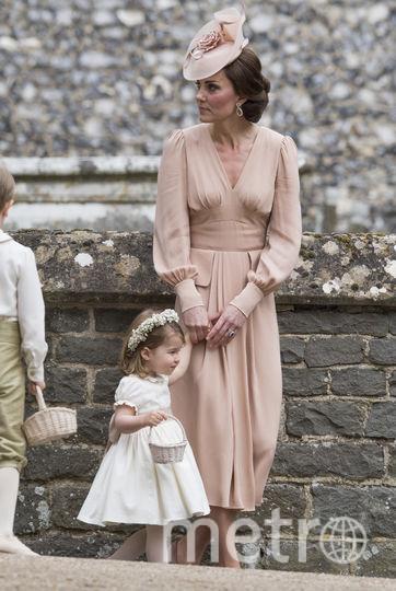 На свадьбе сестры Пиппы Миддлтон 20 мая. Фото Getty