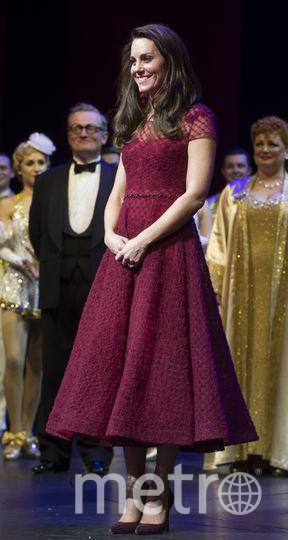 Кэтрин во время открытия Королевского гала-шоу «42-я улица» в Лондоне. Фото Getty