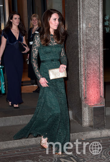 Кейт Миддлтон прибыла на вечер в галерее в Лондоне 27 марта. Фото Getty