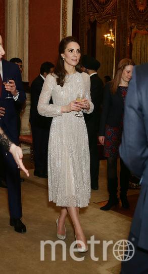Кэтрин на приеме 27 февраля в Лондоне. Фото Getty