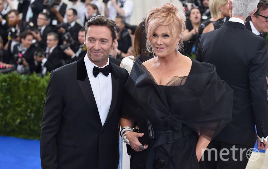 Хью Джекман с женой Деборрой-Ли Фёрнесс. Фото Getty