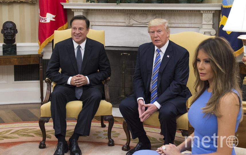 Мелания Трамп в 2017 году. Лучшие платья и образы. Фото Getty