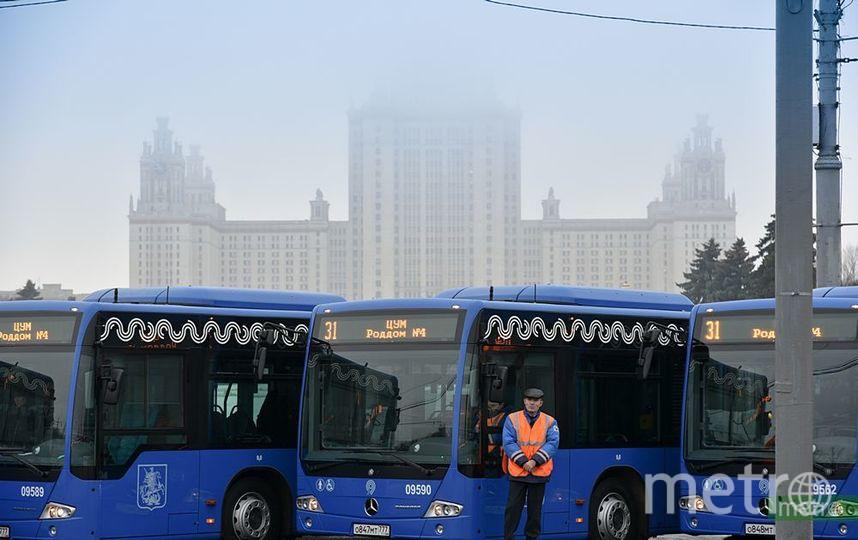 """Автобусы. Фото Василий Кузьмичёнок, """"Metro"""""""