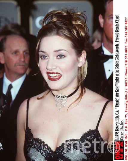 Кейт Уинслет и Леонардо Ди Каприо в 1997 году. Фото Getty