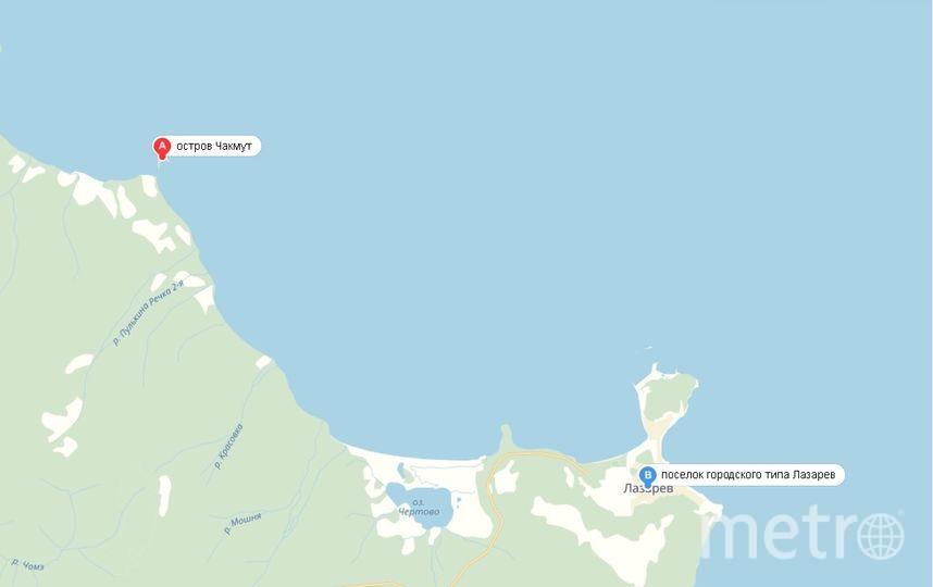 Здесь будет квест. Фото Скриншот карты