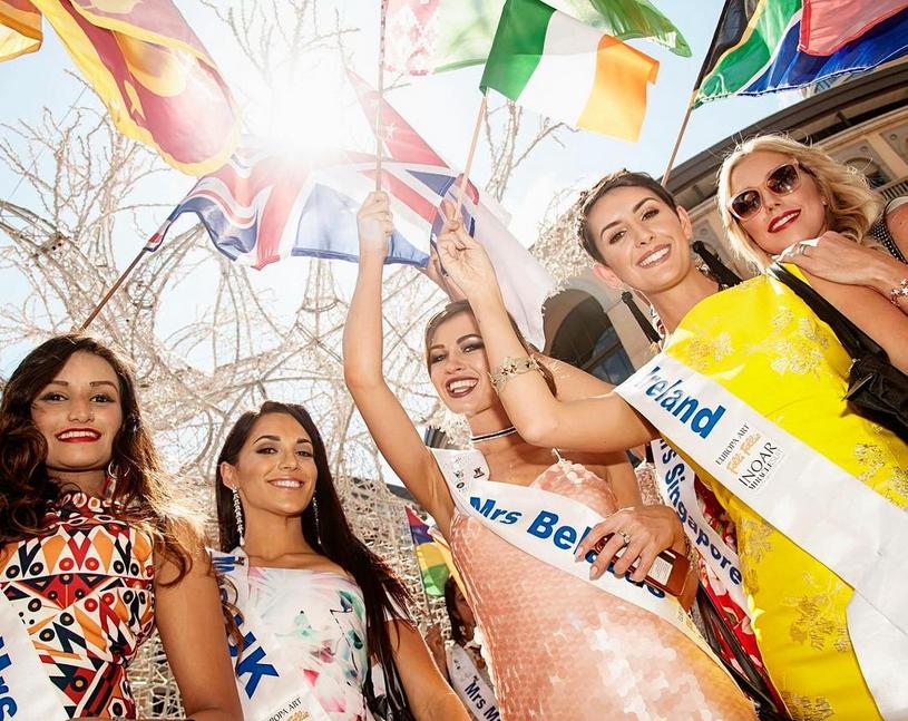 """Участницы конкурса """"Миссис Вселенная - 2017"""". Фото https://www.instagram.com/fraureut/"""