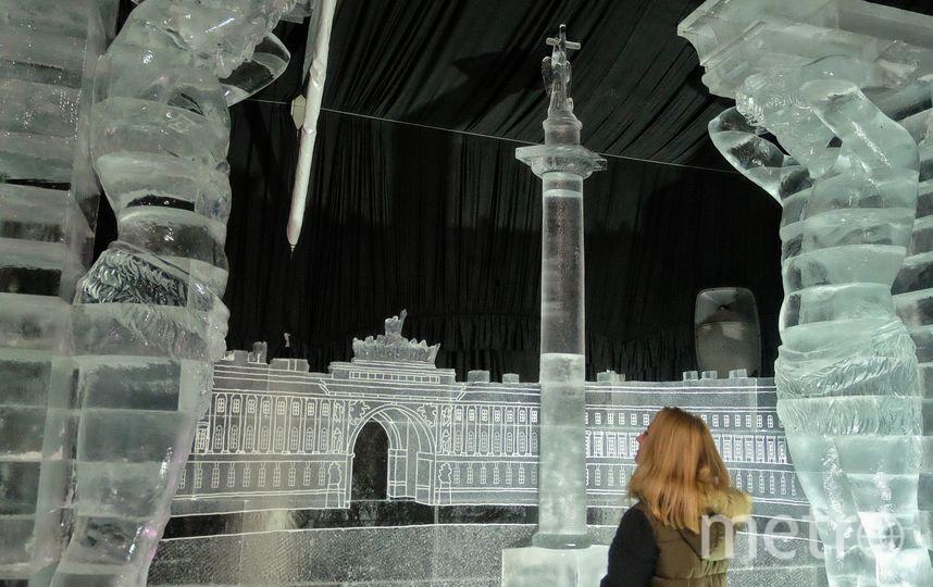Грифонов иатлантов изо льда представят вПетропавловской крепости