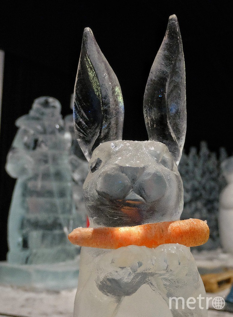 """На фестивале ледовых скульптур в течение всего времени будет поддерживаться температура ниже нуля. Фото Алена Бобрович, """"Metro"""""""