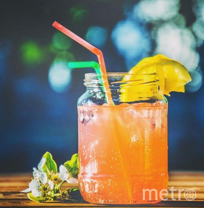 Безалкогольная «Мимоза». Фото  instagram @sunmonfood