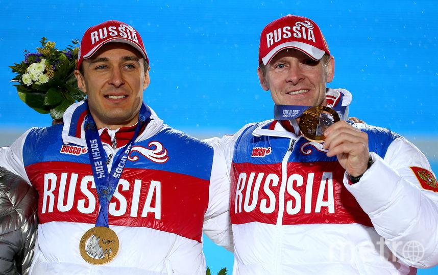 Бобслеисты Алексей Воевода и Александр Зубков на Играх в Сочи. Фото Getty