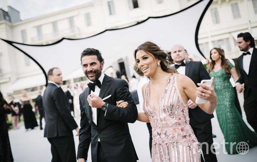 Ева Лонгория и Хосе Бастон. Фото Getty