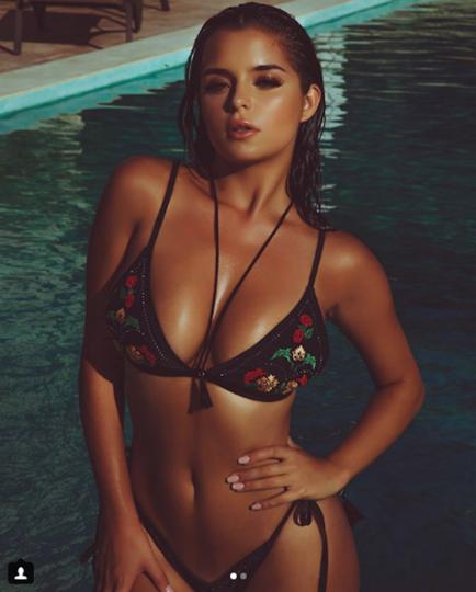 22-летняя модель Деми Роуз поделилась навсе 100% обнажённым фото