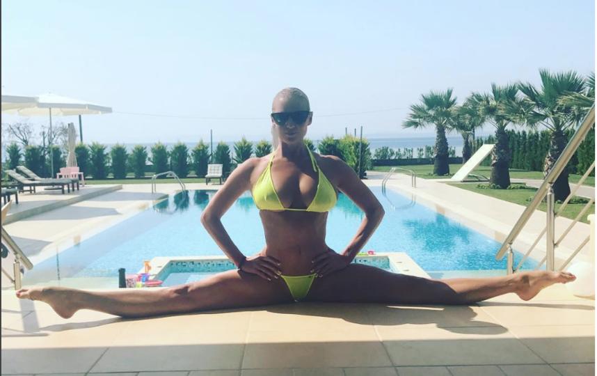 Анастасия Волочкова. Фото instagram.com/volochkova_art