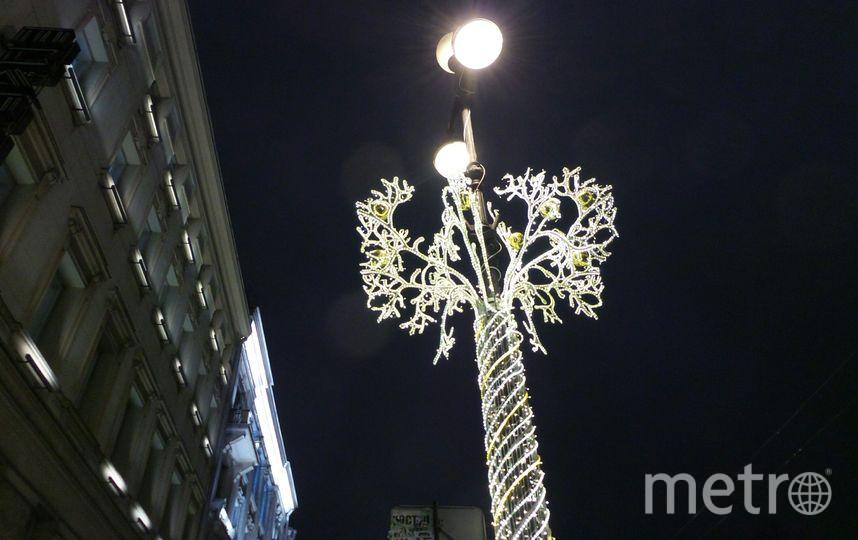 """Петербург украсили к Новому году и Рождеству. Фото Анна Лутченкова, """"Metro"""""""